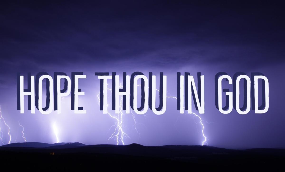 Hope Thou InGod