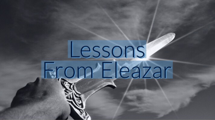 3 Lessons FromEleazar