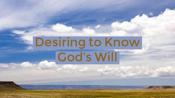 God's Will – MyTestimony