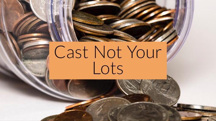 Cast Not YourLot