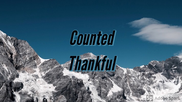 Counted Thankful