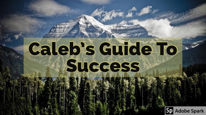 Caleb's Guide ToSuccess