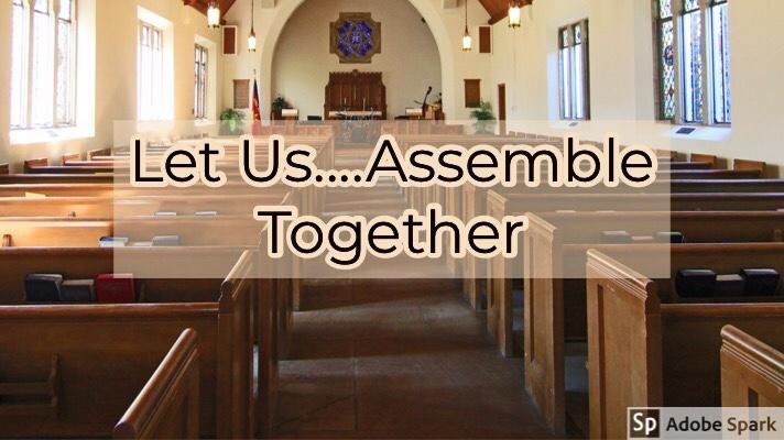 Let Us….Assemble Together